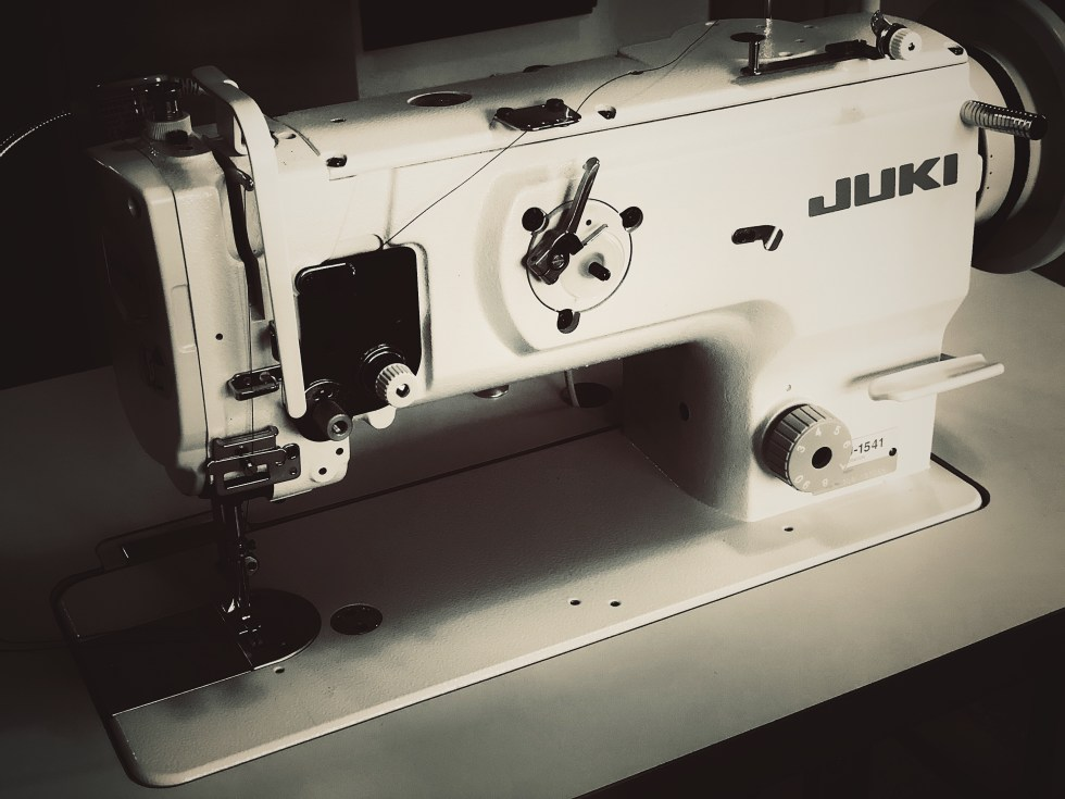 Juki Industrial sewing machine for making insulated window curtains