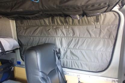Sprinter van crew insulated window cover