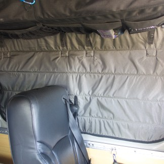 Sprinter van crew insulated window cover