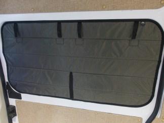 Dodge promaster sliding door window cover