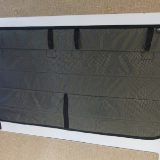 Dodge promaster sliding door window cover