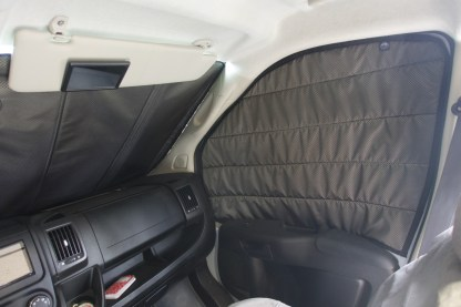 Promaster passenger side window cover