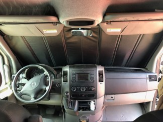 NCV3 Sprinter van insulated windshield cover
