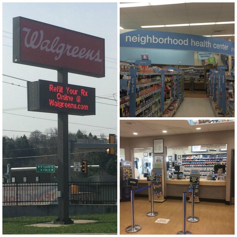 Walgreens collage #WalgreensRX #shop