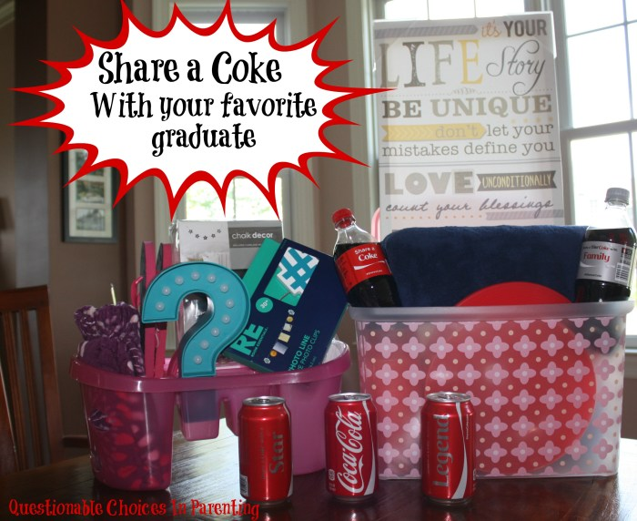 Share a Coke with your favorite graduate #ShareItForward #CollectiveBias #Shop