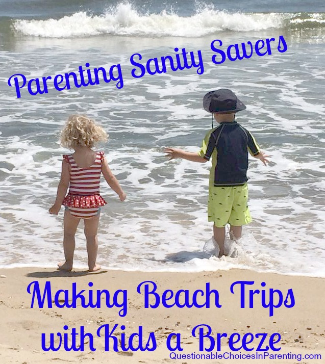 Making Beach Trips with Kids A Breeze
