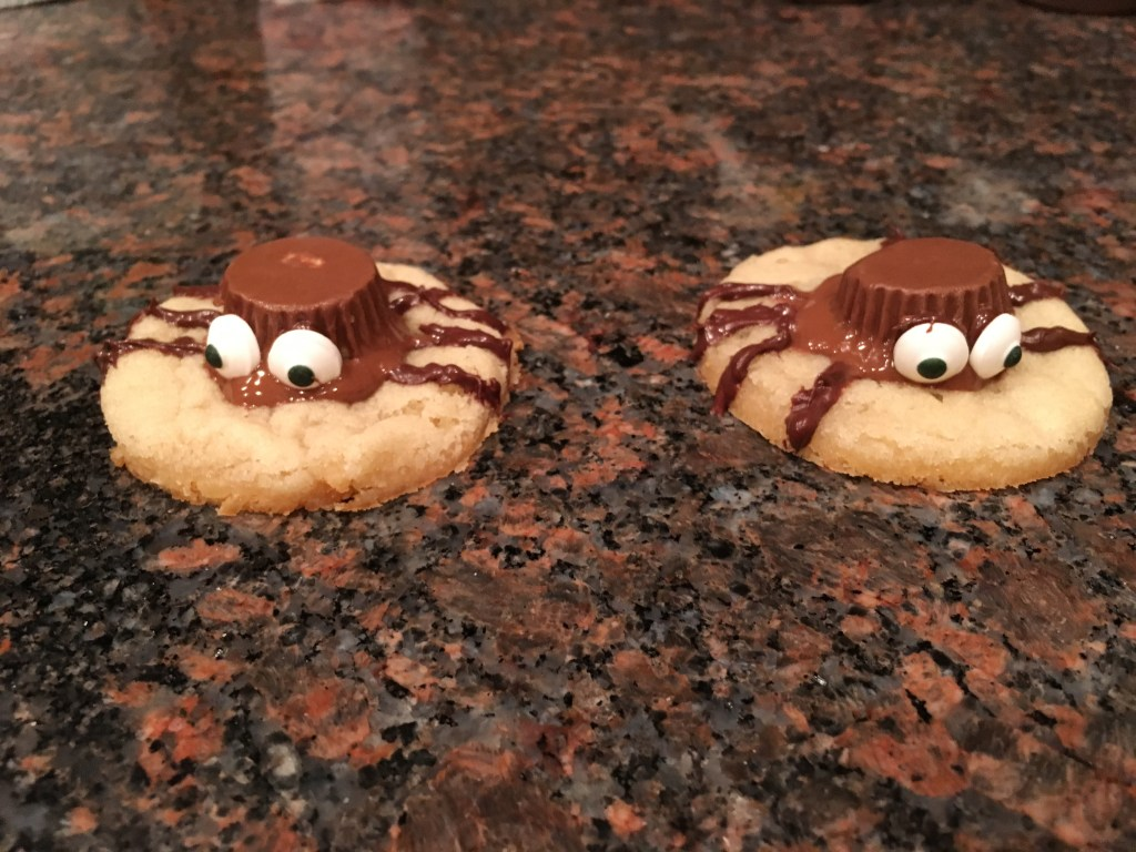 Silly Spider Cookies