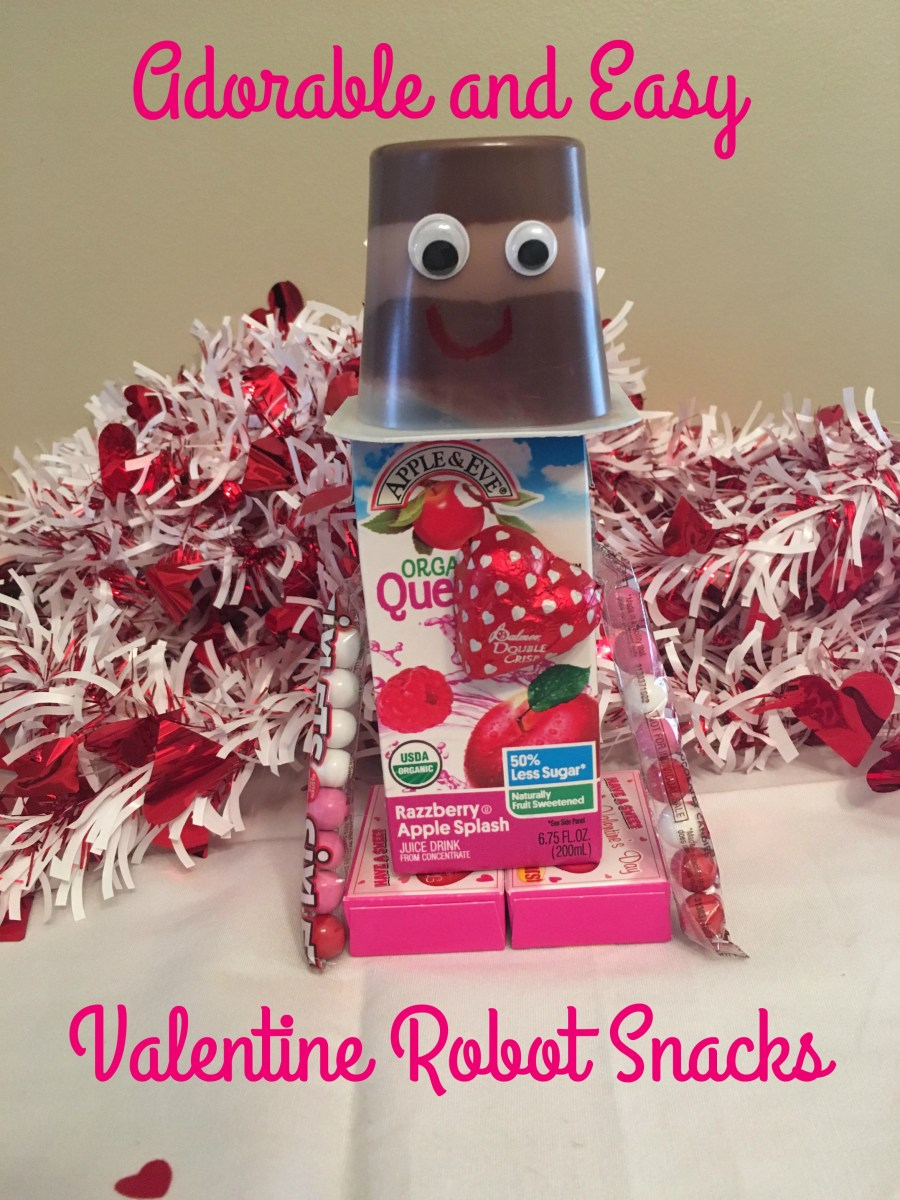 Adorable and Easy Valentine Robot Snacks for Kids