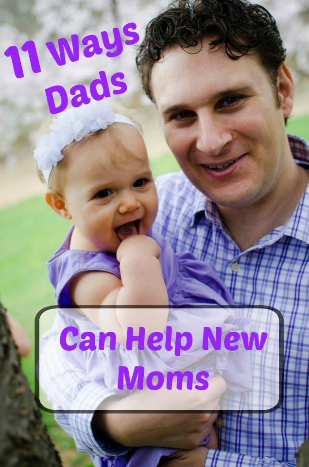 dad helping mom