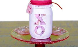 DIY Valentine's Day Candy Jars