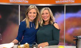 Thanksgiving Hosting Hacks on Good Morning Washington
