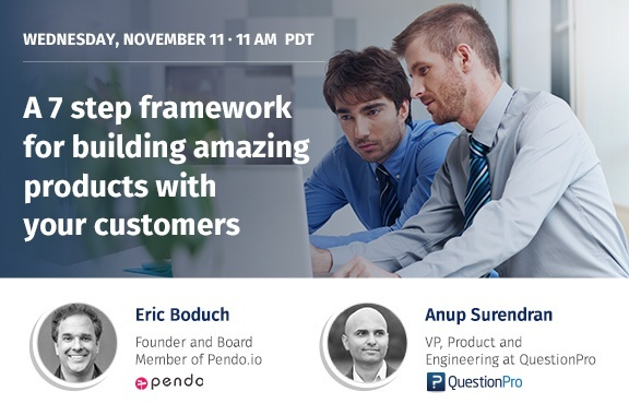 A 7 Step Framework For Building Amazing Products With Your Customers – Webinar Recap