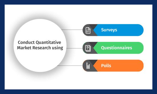 Conduct quantitative market research