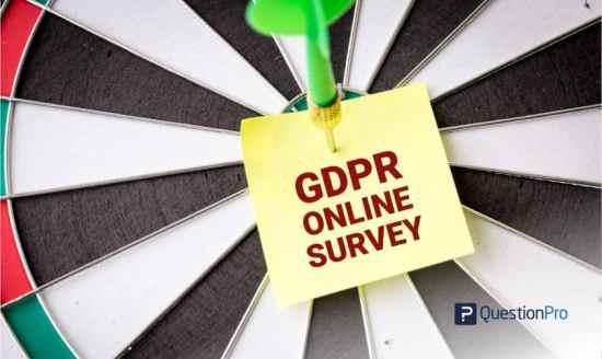 create gdpr online survey