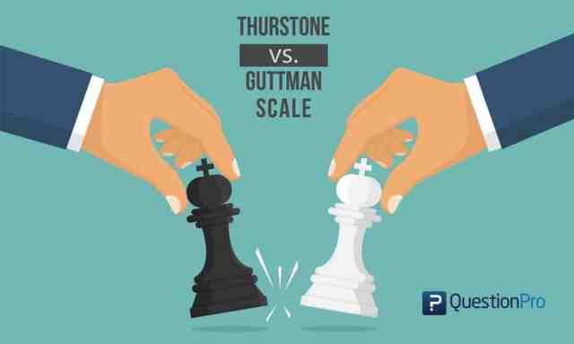 Thurstone vs Guttman scale