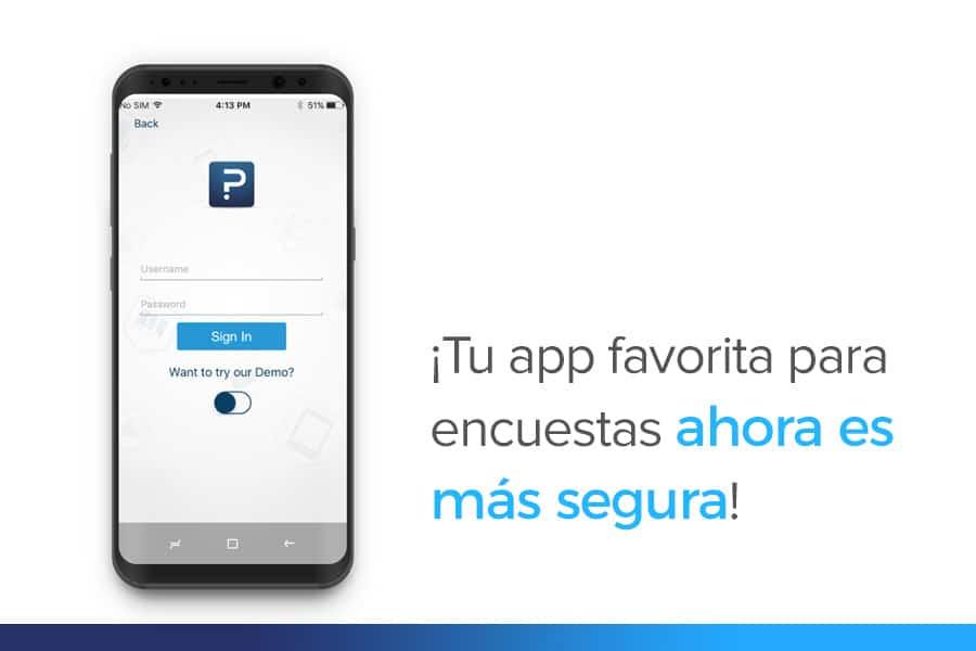 ¡App para encuestas seguras! QuestionPro se actualiza