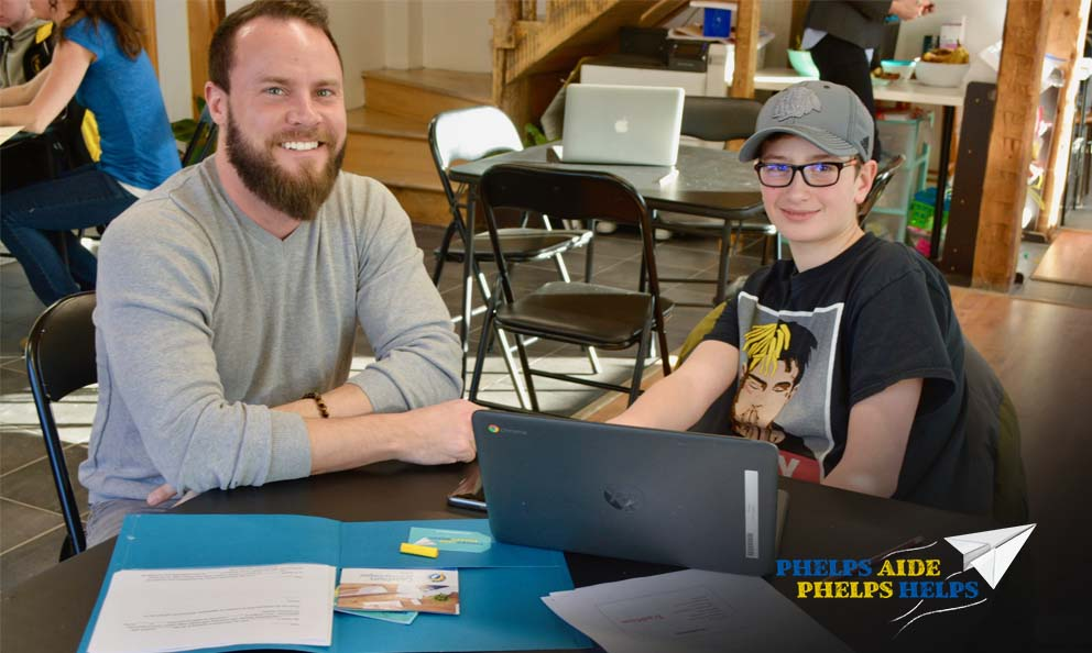 Learn how Phelps Aide Phelps Helps assess employment and educational engagement programs in their community