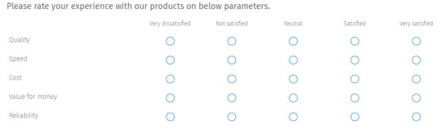 client feedback questionnaire