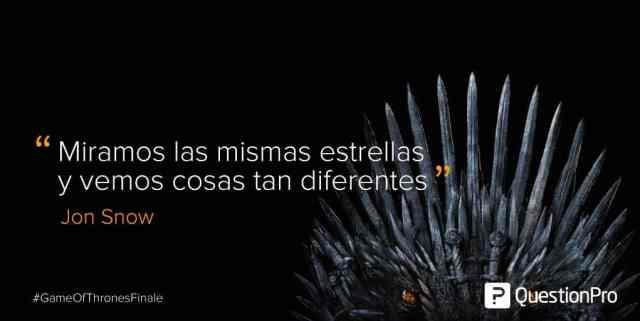 frases Jon Snow Game of Thrones