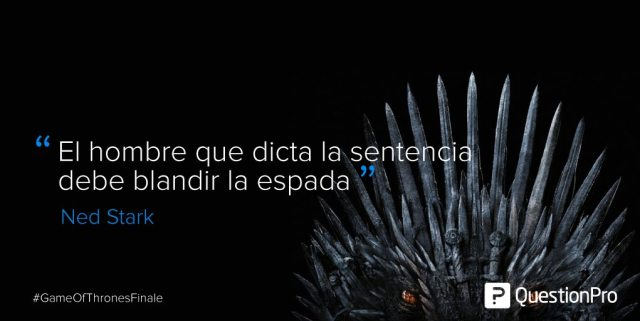 frases Game of Thrones liderazgo