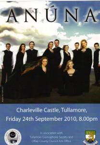 Anuna, Charleville Castle Friday 24th September 2010
