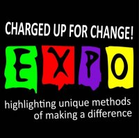 Charged up for change logo