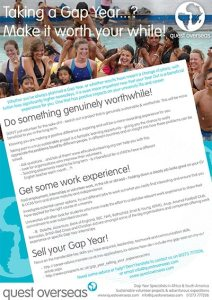 Make your gap year worth it 2015