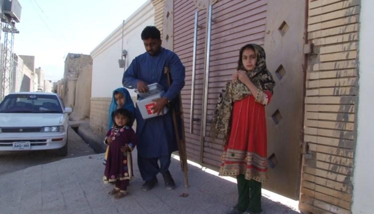 A polio survivor fighting back crippling virus in Quetta
