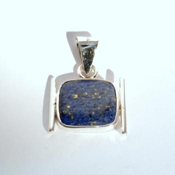 Pendentif Japan Lapis-Lazuli QUETZAL CREATION