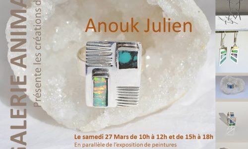 Anouk Julien - Galerie Anima 2021
