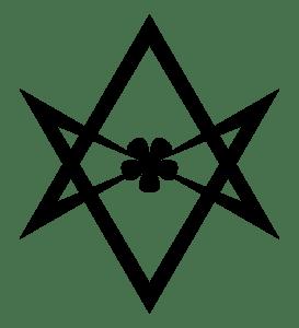 Hexagrama Unicursal, um dos principais símbolos de Thelema