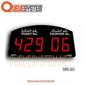 Service Display QWD-603