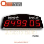 Service Display QWD-606
