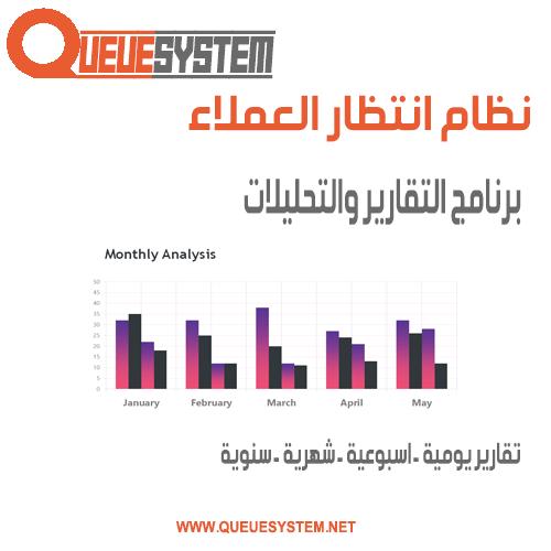 برنامج التقارير والتحليلات