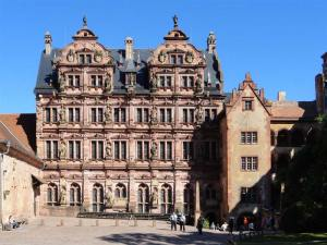 Cour du Château de Heidelberg