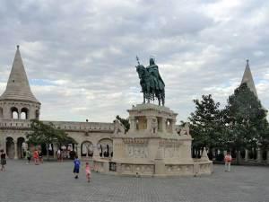 statue équestre de Saint-Étienne