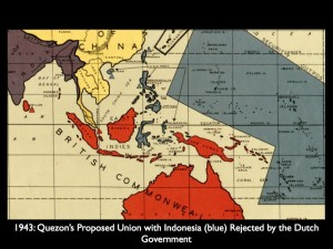 1943: Quezon's Proposed Union with Indonesia