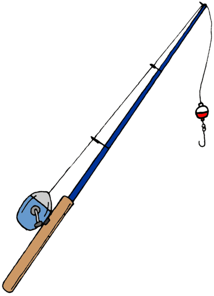 Fishing Pole Transparent