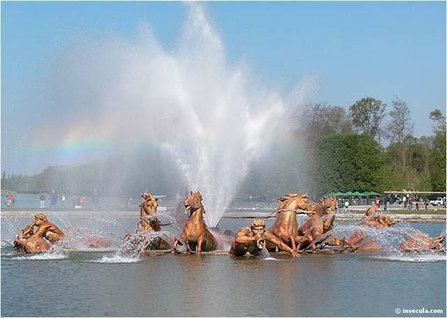 Palace Versailles Gardens