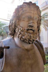Busto di Giove. Museo Archeologico Nazionale di Napoli.