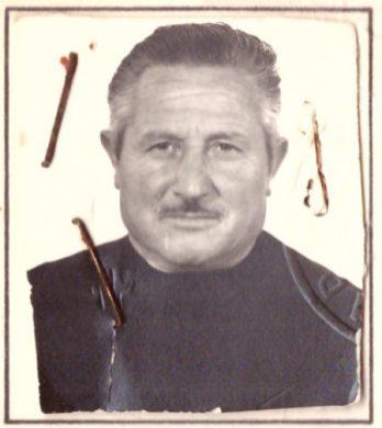 P.M. in una foto del 1977