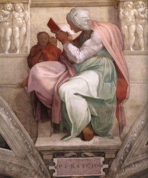 Cappella Sistina. Sibilla persica