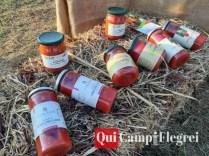 barattoli di pomodoro cannellino flegreo