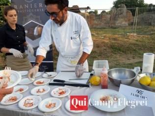 lo chef Michele Grande - la Bifora - Bacoli