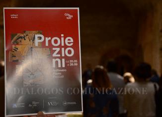 Proiezioni Anfiteatro Pozzuoli