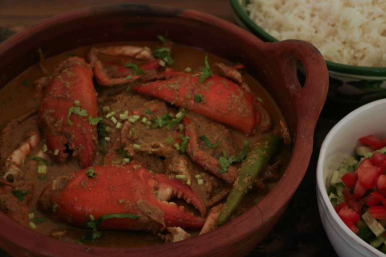 Spicy Goan Coconut Crab Curry / www.quichemtell.com