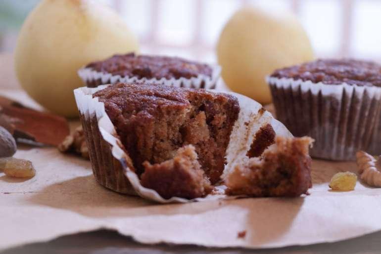 Gluten-Free Buckwheat Fruit 'N' Nut Cupcakes / gluten-free / www.quichentell.com