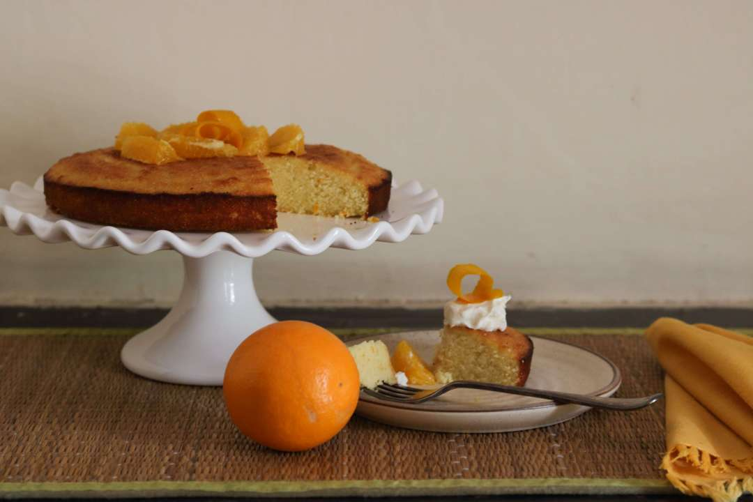 Orange And Almond Cake / www.quichentell.com