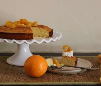 Orange And Almond Cake / www.quichentell.com