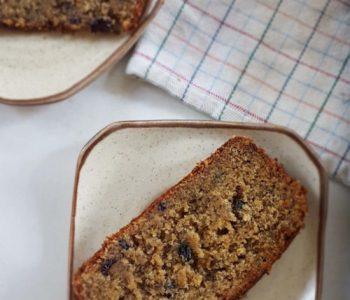 Gluten-free eggless banana bread / /www.quichentell.com